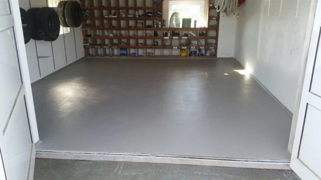 Garage einfarbig - rutschhemmend