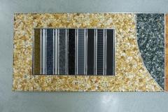 Natursteinspachtel mit Abstreifer-Variationen