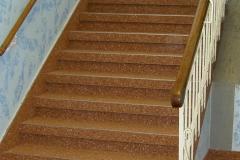 Steinteppich braun